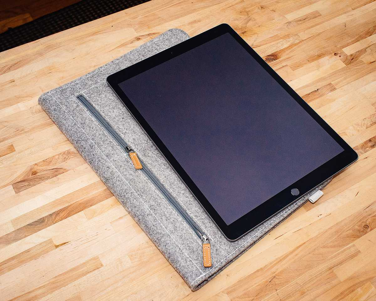 iPad Pro with Inateck Sleeve Case