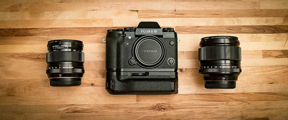 Fujifilm X-T1 and lenses